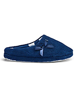 Heavenly Soles Mule Slippers EEE Fit