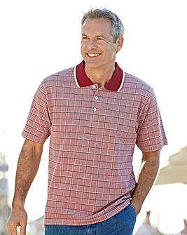 Premier Man Check Polo Shirt