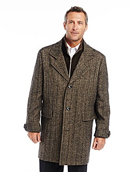 WILLIAMS & BROWN Herringbone Coat