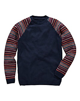 Southbay Crew Neck Fairisle Jumper