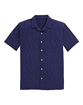 Southbay Rever Collar Pique Shirt