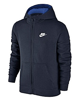 Nike Boys Sportswear Full Zip Club Hoodi