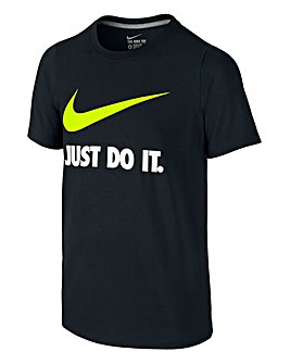 Nike Boys Just Do It Training Swoosh T-S