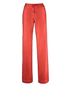 Linen Mix Trousers Length Extra Short