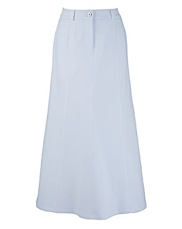 MAGISCULPT Denim Skirt Length 33in