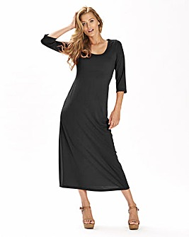 Petite Jersey Plain Dress 42in