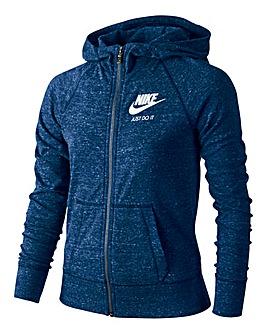 Nike Girls Sportswear Gym Vintage FZ Hoo