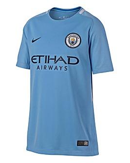 Nike Boys MCFC Home Jersey