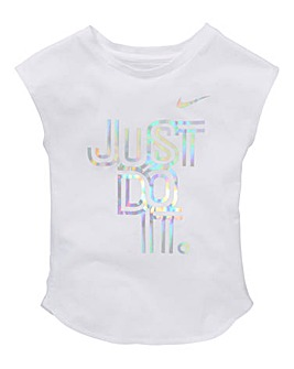 Nike Young Girls Iridescent JDI Modern T
