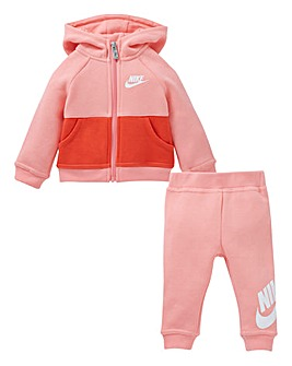 Nike Baby Girls Hoodie And Joggers Set