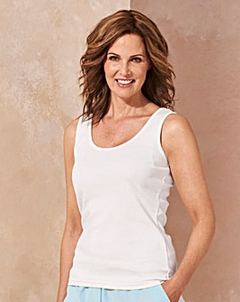 Black/ Grey/ White Pack of 3 Vests