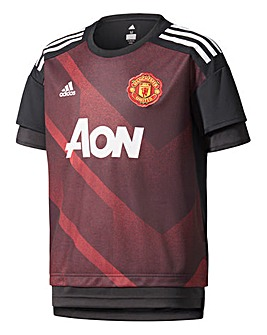 Adidas MUFC Boys Youth Jersey