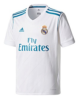 Adidas Real Madrid Boys Youth Home Jerse