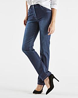 MAGISCULPT Straight-Leg Jeans Short
