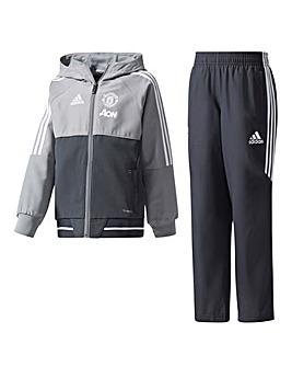 adidas Junior MUFC Junior Tracksuit