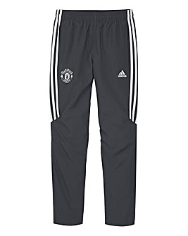 adidas MUFC Boys Youth Tracksuit Pants