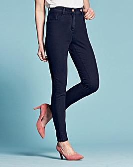 Slim Leg Jeans Short