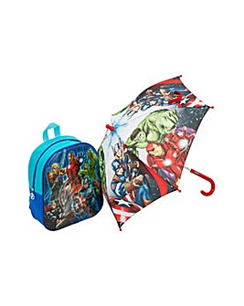 Avengers Backpack and Umbrella Set.