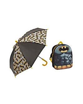 Batman Backpack and Umbrella.