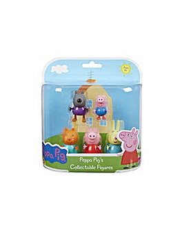 Peppa Pig Dress Up 5 Figure Pack.