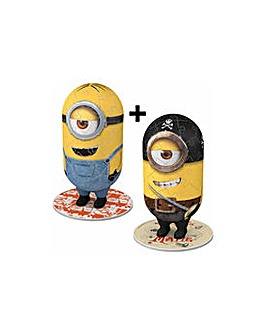 Minions 3D Puzzle Twin Pack.