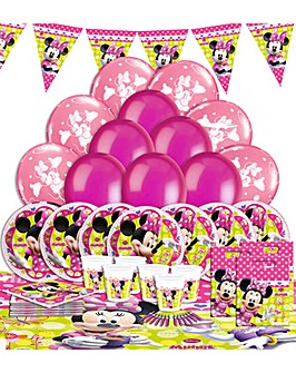 Minnie Mouse Ultimate Party Kit for 16