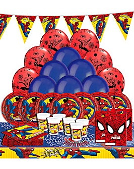 Spiderman Uitimate Party Kit for 16