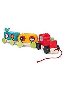 Le Toy Van Woodland Stacking Train