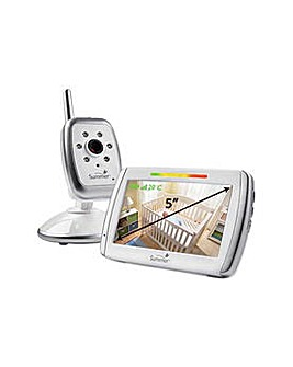 Infant Wide View Video Baby Monitor