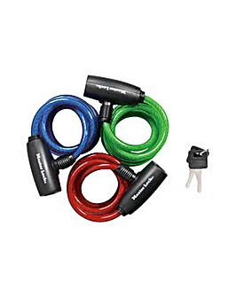 Master Lock 3 Pack Coiling Cable Lock.