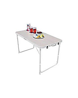 Twin Height Folding Camping Table.