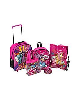 My Little Pony 5 Piece Luggage Set.