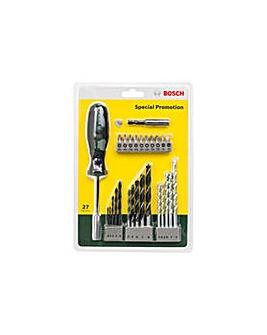 Bosch 27 Piece Hand Screwdriver/Bit Set