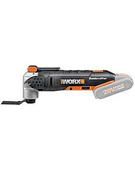 WX678.9 Li-Ion Multi Tool - No Battery