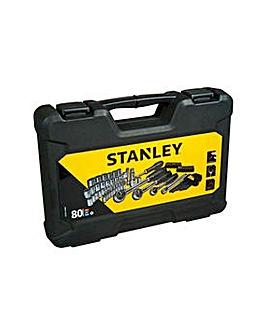 Stanley 80 Piece Socket Set.