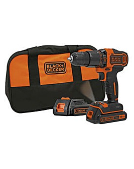 Black & Decker Li-ion Hammer Drill - 18V