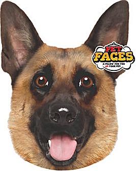 Pet Face Cushions German Shepherd