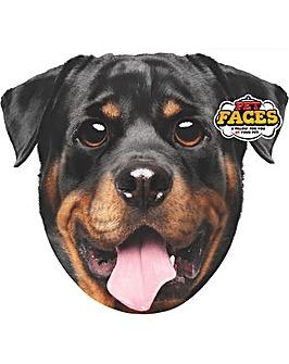 Pet Face Cushions Rottweiler