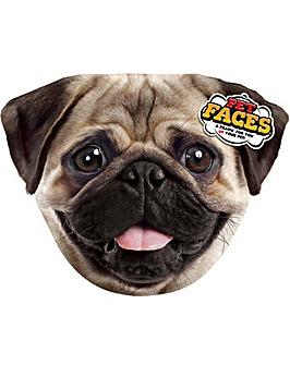 Pet Face Cushions Pug