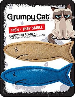 Grumpy Cat Smelly Sardines