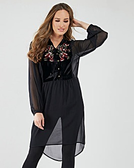 Joe Browns Luxury Longline Blouse