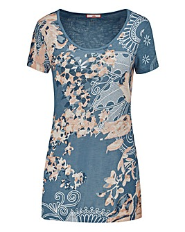 Joe Browns Floral Jersey Top