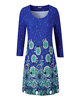 Joe Browns Spirograph Cut and Sew Tunic