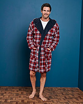 Capsule Sherpa Lined Dressing Gown