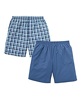 Capsule Pack of 2 Woven Shorts