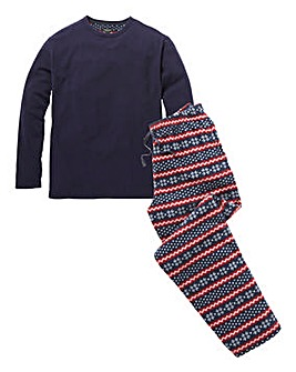 Capsule Fairisle Fleece PJ Set