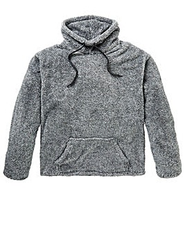 Capsule Sherpa Funnel Neck Top