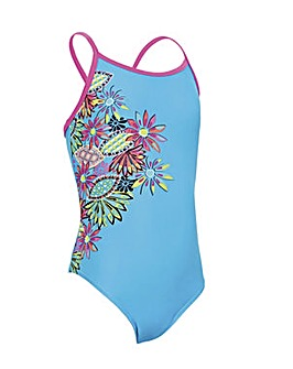 Zoggs Cuban Sunset Sprintback Swimsuit