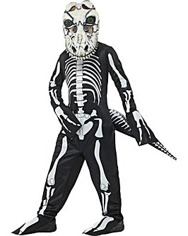 Halloween Deluxe T-Rex Skeleton Costume