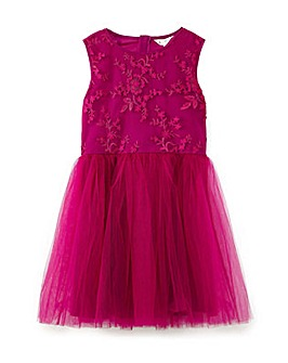 Yumi Girl 3D Flower Dress